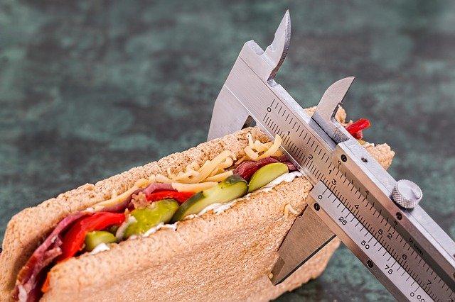 sendvič, měřič