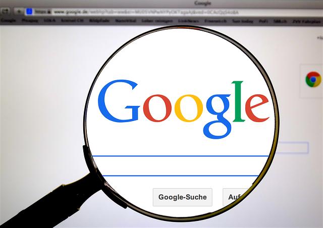 Google jako vyhledávač