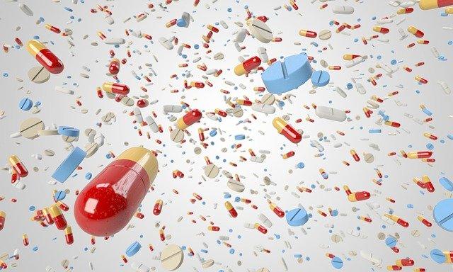 letící léky