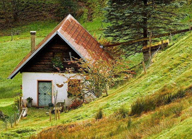 bydlení v přírodě