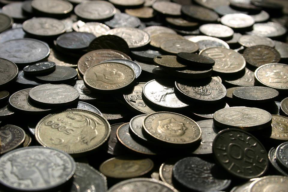 peníze mince